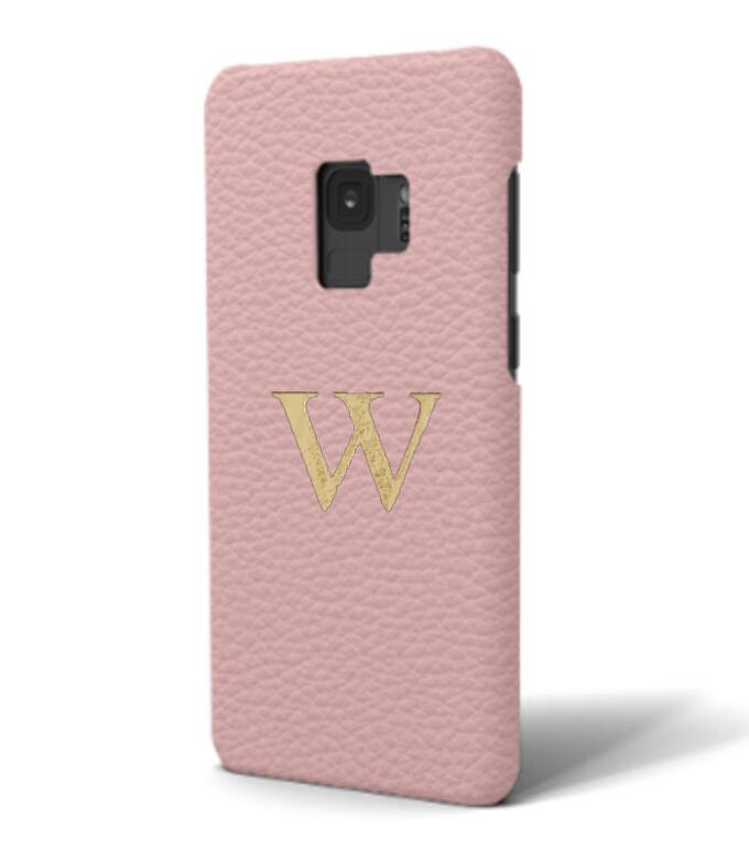 Galaxy Premium Shrink Leather Case (Blush Pink)