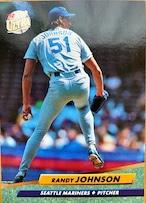 MLBカード 92FLEER Randy Johnson #125 MARINERS