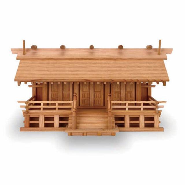 欅極上一ツ屋根三社(低床)