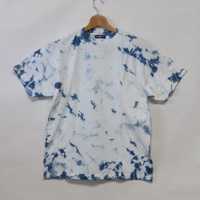 藍染Tシャツ【B】|Lサイズ