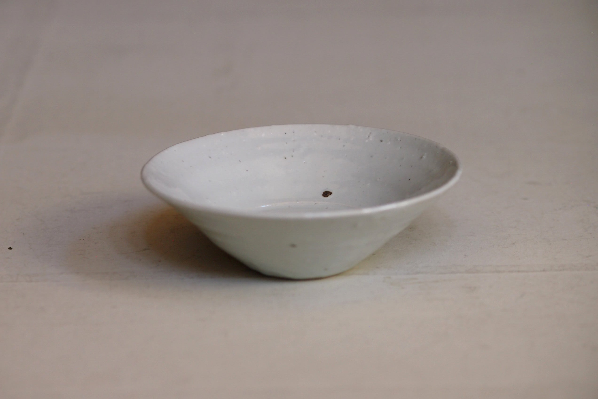 田鶴濱守人 9.半磁器6寸ラッパ鉢