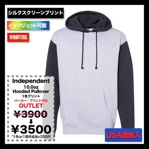 Independent 10.0oz Hooded Pullover Sweatshirt ★在庫限りカラーSALE (品番IND4000)