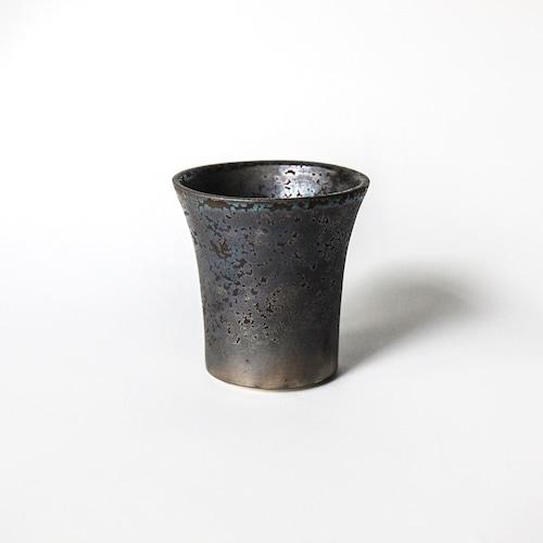 ラン鉢 (黒煌) ※SMALL