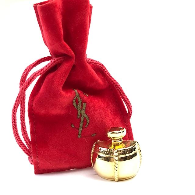 Yves Saint Laurent イヴ サンローラン  パフューム vintage ヴィンテージ オールド  YSL 香水 フレグランス ピン バッチ