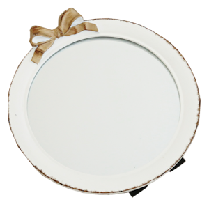 Antique ribbon mirror / アンティーク リボン ミラー