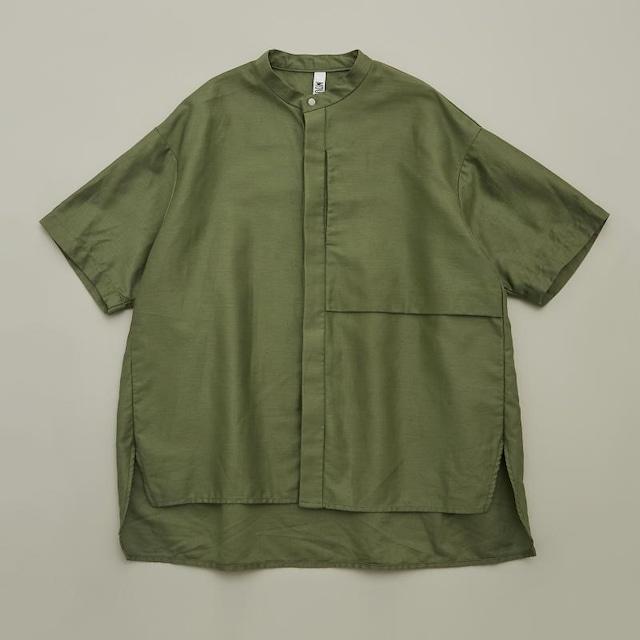 MOUN TEN. C/L moleskin shirts (khaki) 0サイズ [21S-MS19-0920b]  MOUNTEN.