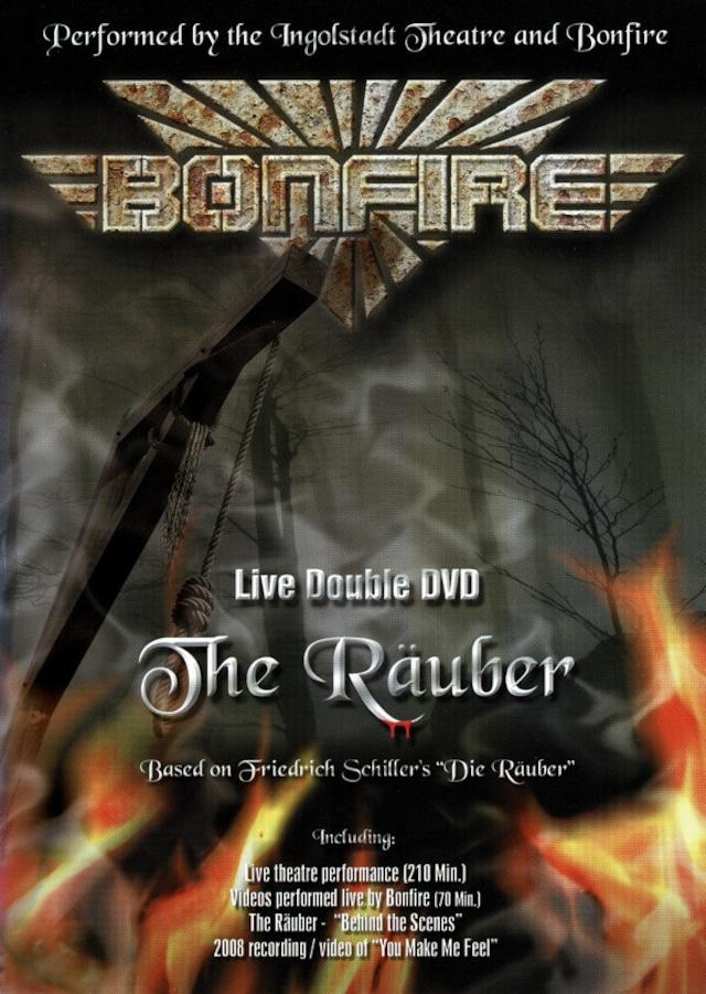 """BONFIRE """"The Räuber"""" Live Double DVD / PAL (輸入盤)"""