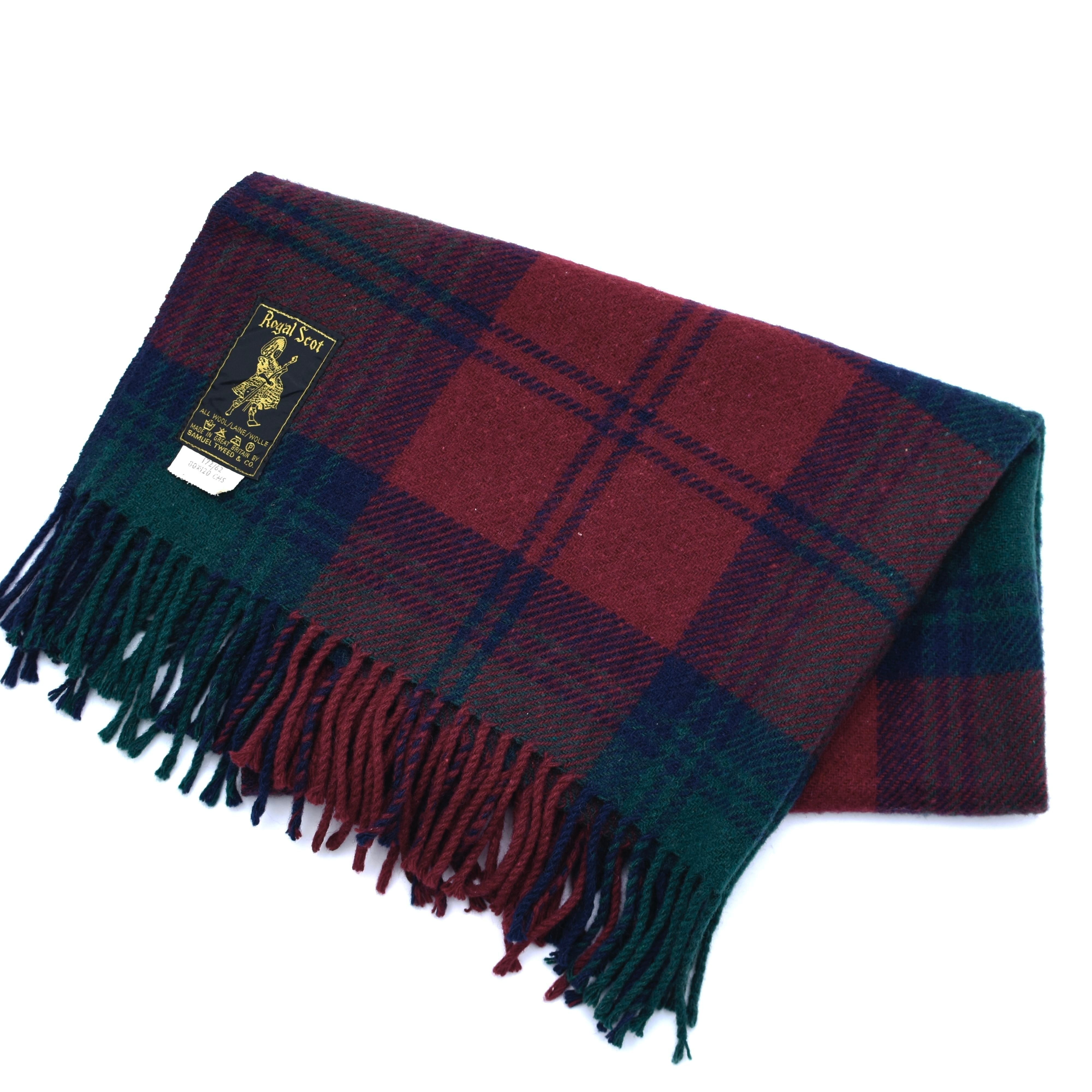 Vintage Made in Great Britain Royal Scot stole
