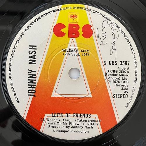 Johnny Nash - Let's Be Friends【7-20720】