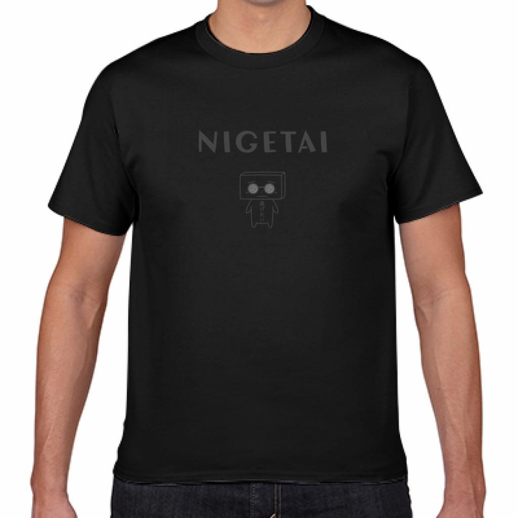 とうふめんたるずTシャツ(こうやくん・黒)