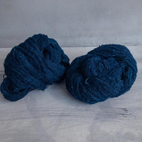 青い古い糸