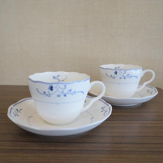 YAMAKA陶器 カップ&ソーサー 2客セット