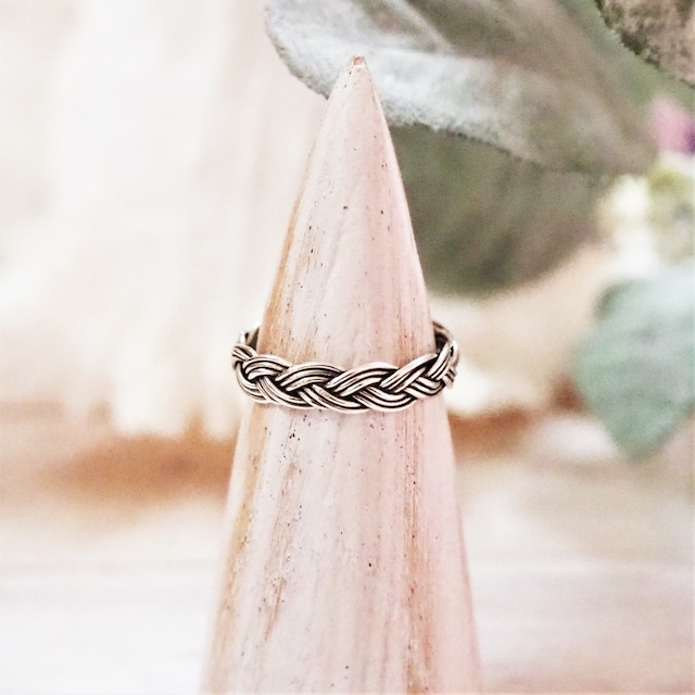 Braid Ring《SILVER925》18380044【11号/15号】