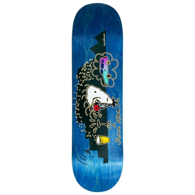 Frog skateboards Red Eye (Jesse Alba) Deck 8.25