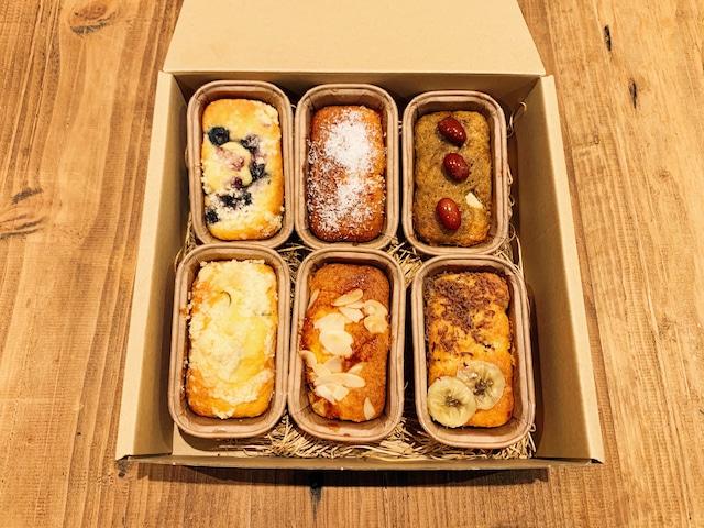 スプーンパウンドケーキ 6個入りアソート(1セット)
