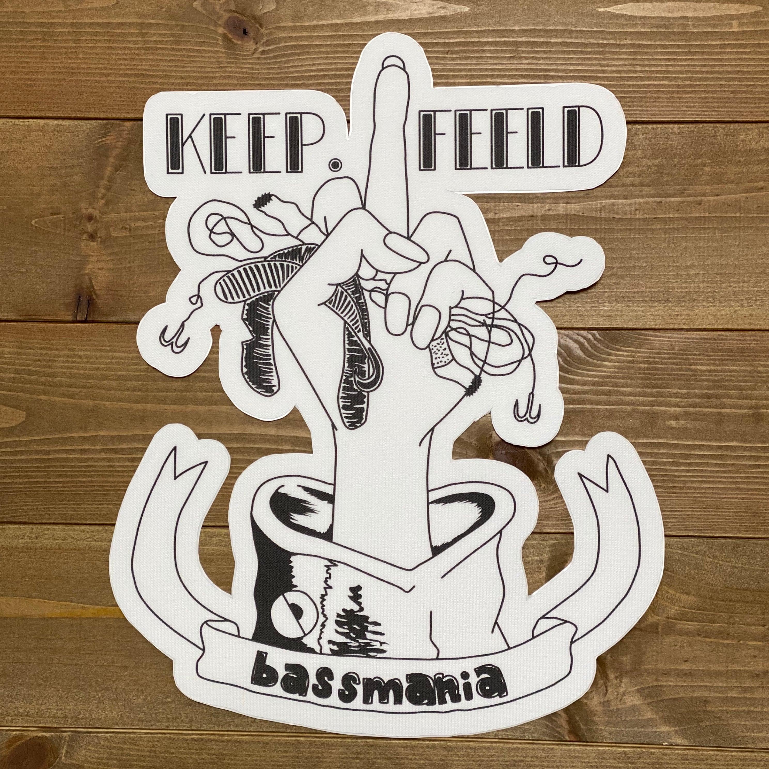 KEEP.FEELDボートカーペットデカール [small]