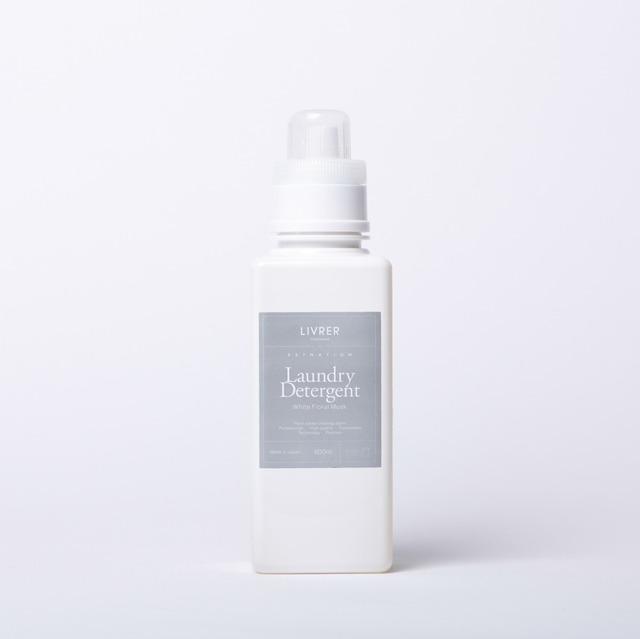 600ml】ESTNATION × LIVRER yokohama Laundry Detergent 【ホワイトフローラルムスクの香り】<綿、麻、合成繊維用>