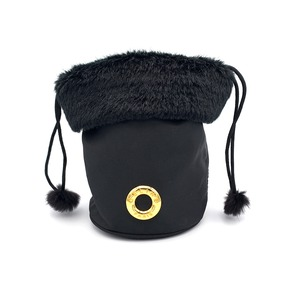 CELINE セリーヌ サークル ロゴ 巾着 ミニバッグ ポーチ ブラック vintage ヴィンテージ オールドセリーヌ Accessories   pgubhf