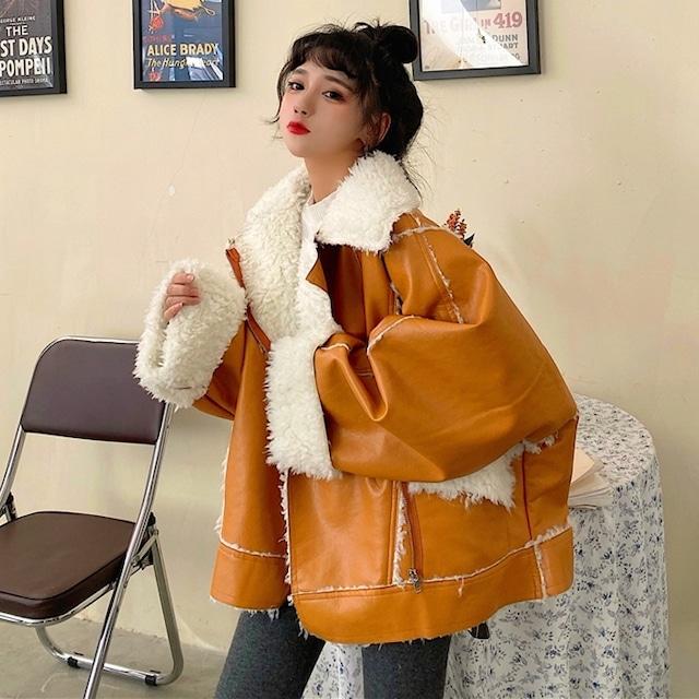 【アウター】ストリート韓国系オーバーサイズファッションジャケット42920228