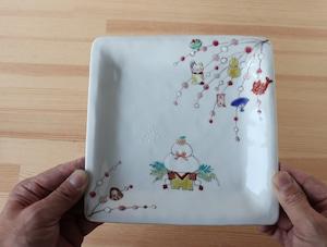クリスマスプレート&お正月のお皿(工房直売商品)