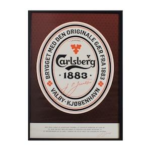 Poster AD Carlsberg / CB-1883