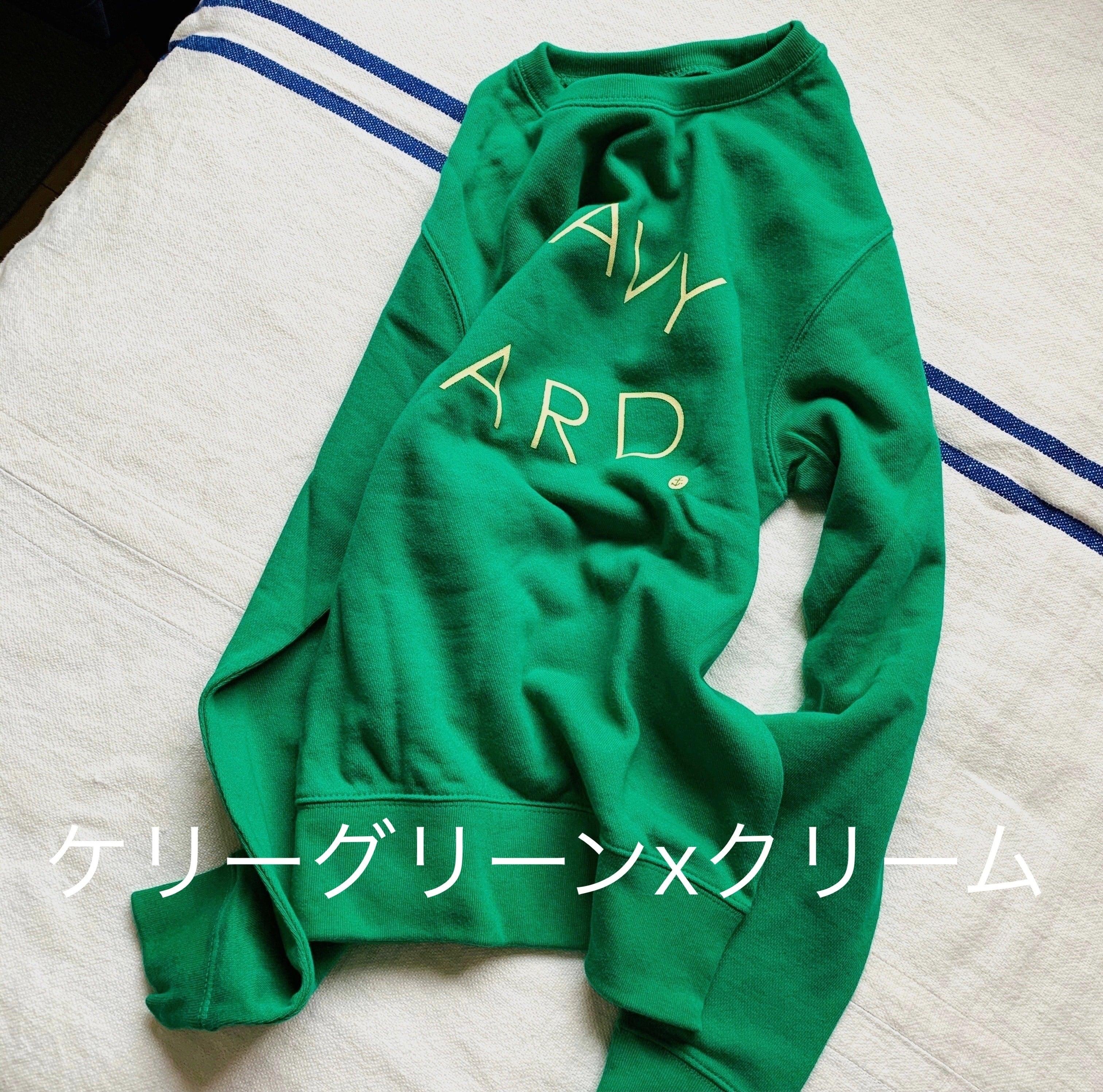< 在庫限り>ロゴプリント スウェットシャツ