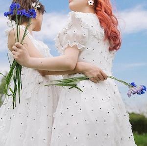〔Designer+ 〕FLOWER DRESS