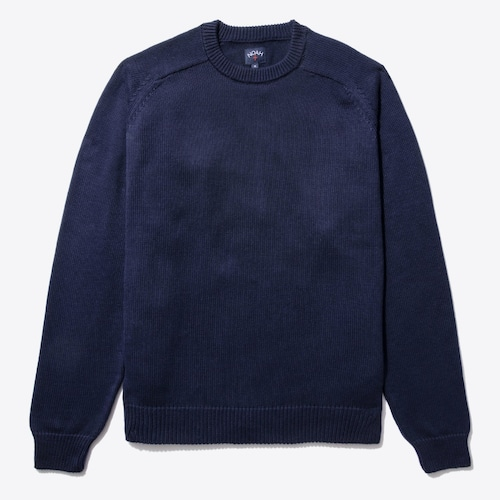 Cotton Sweater(Navy)