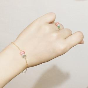 BIRTH STONE Bracelet&Ring No.01