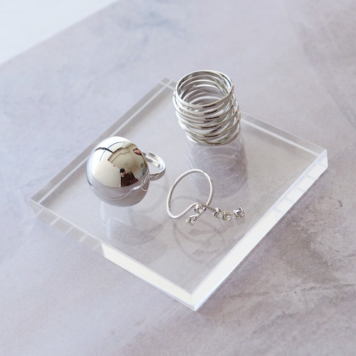 SET RINGS || 【通常商品】 BLOSSOMS 3 RING SET F || 3 RINGS || SILVER || FBB051
