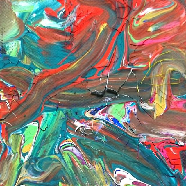 絵画 絵 ピクチャー 縁起画 モダン シェアハウス アートパネル アート art 14cm×14cm 一人暮らし 送料無料 インテリア 雑貨 壁掛け 置物 おしゃれ 現代アート 抽象画 : ごま 作品 : s02
