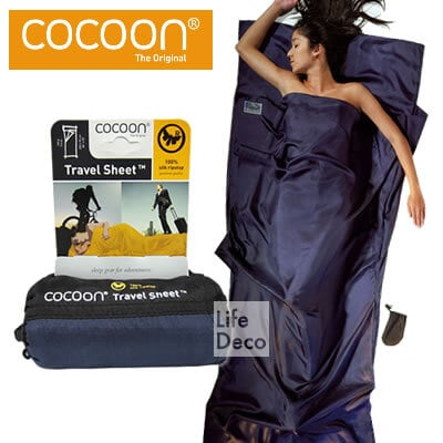 Cocoon コクーン シルク トラベルシーツ Ripstop リップストップ ST24-RS