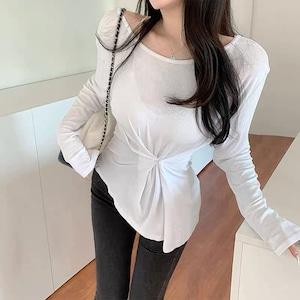 waist design shirt