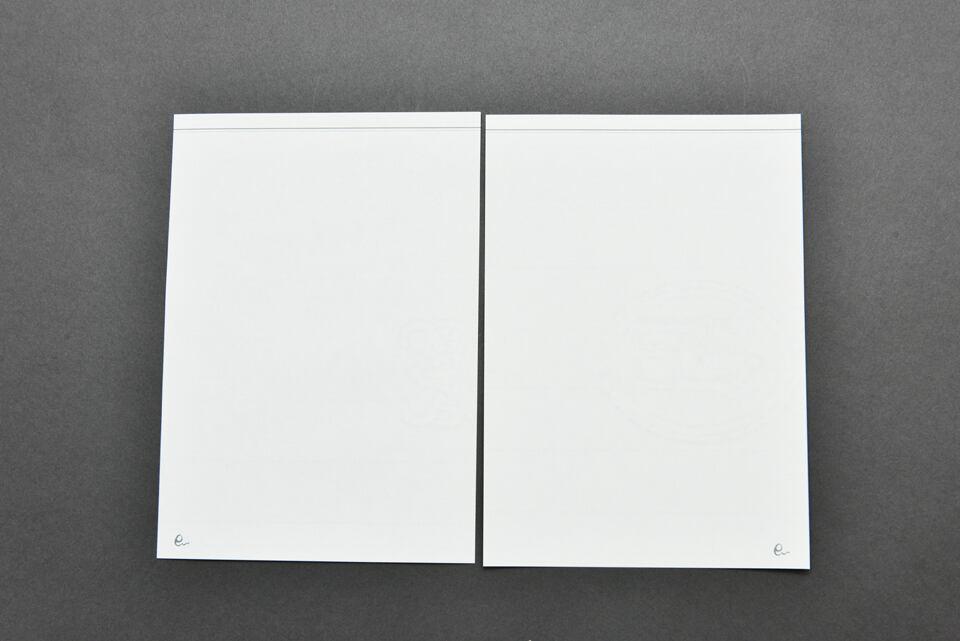 オリジナルノート詰め替え用リフィル(無地)