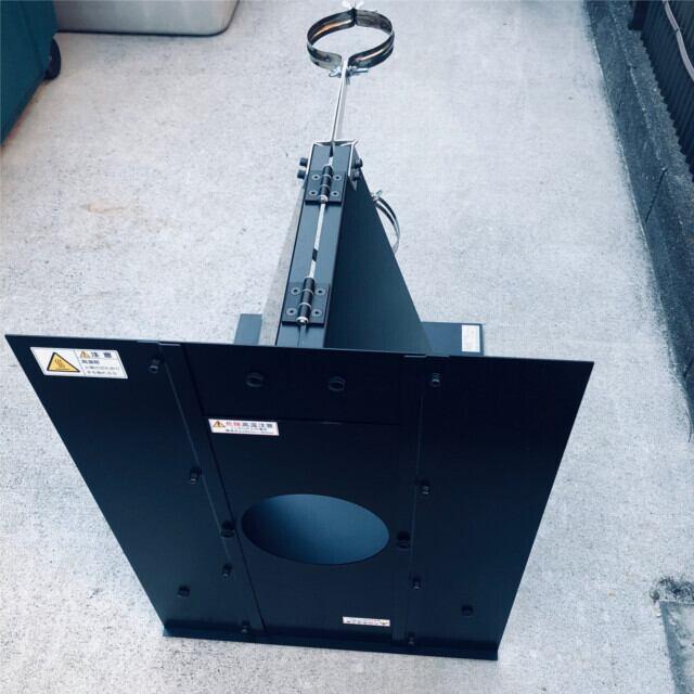 【試作 現品処分】DUCTCOVER V6A アルミ製幕除本体(別売の断熱材付直管が必要)