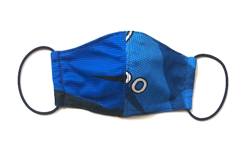 【デザイナーズマスク 吸水速乾COOLMAX使用 日本製】SPORTS MIX MASK CTMR 0924102