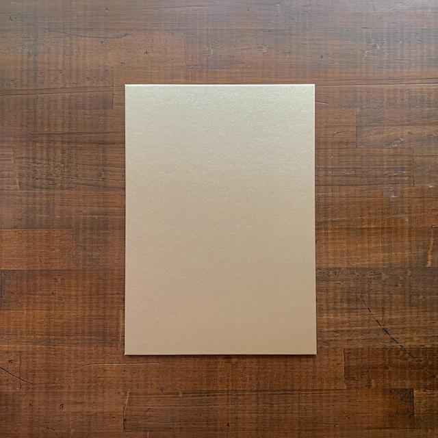 着せ替え表紙「HAOLi-羽織-」(A5ノート用1枚)エレガントメタル(ライトゴールド)