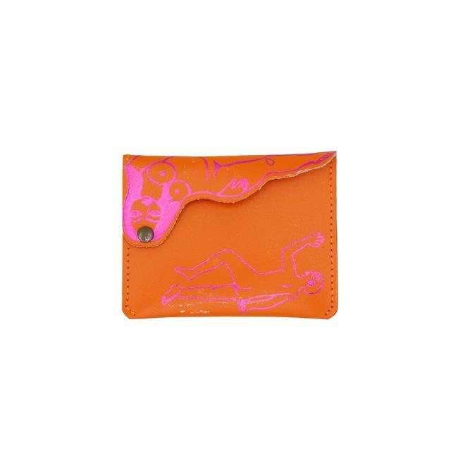 Ark Colour Design_Who Do You Sleep With Purses:Orange