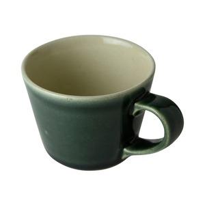 益子焼 つかもと窯 「伝統釉」 デミタスカップ 200ml コーヒーカップ 呉須釉 KKC-6