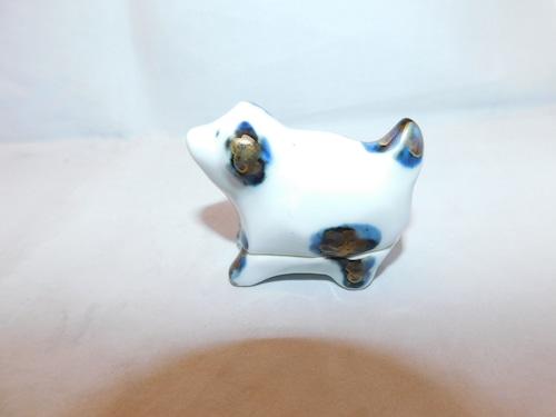犬香合 porcelain incense box(No9)