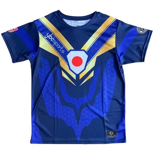【YBC】JAPAN Supporter T-shirt Blue
