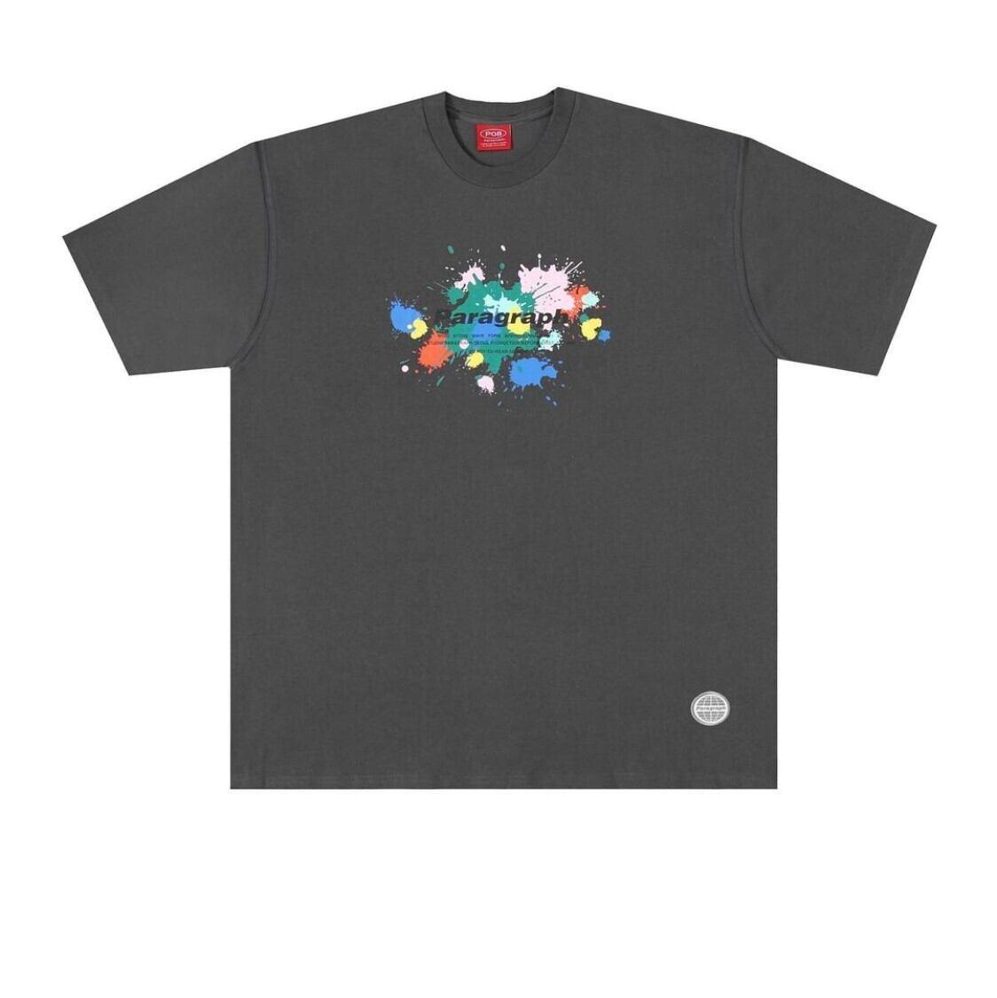 【PARAGRAPH】スプラッシュプリントTシャツ