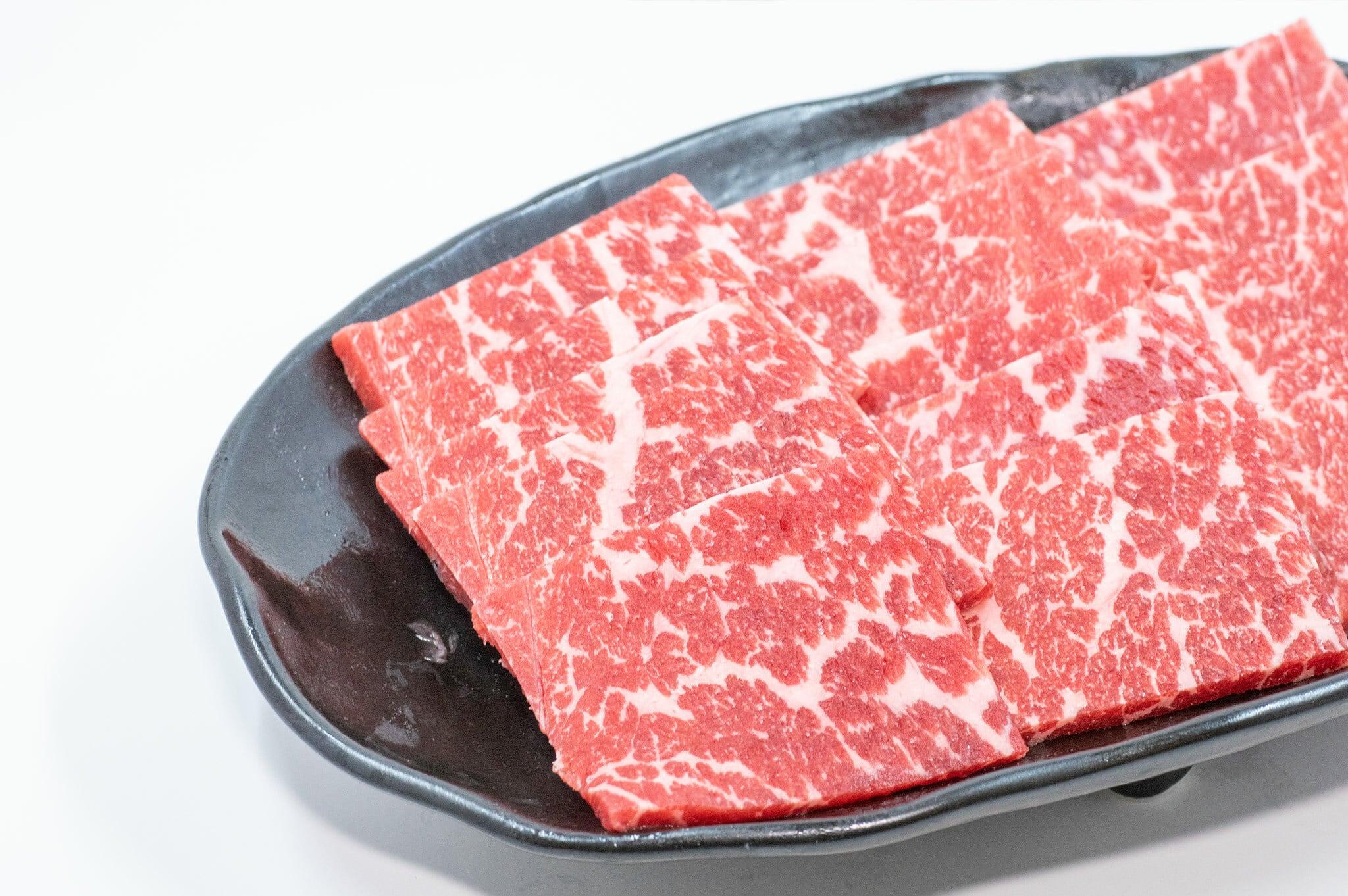 かわなべ牛 上焼肉(上赤身300g)