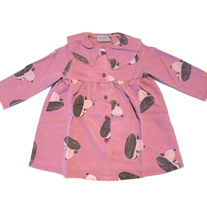 【21AW】bobochoses(ボボショセス)Doggie All Over buttoned woven dress ワンピース