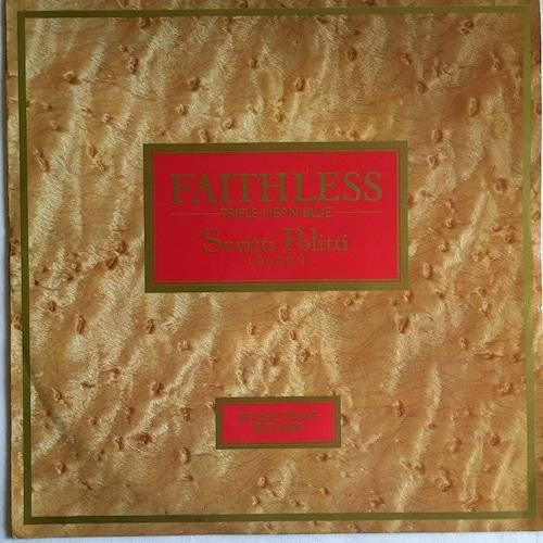 【12inch・英盤】Scritti Politti  /  Faithless