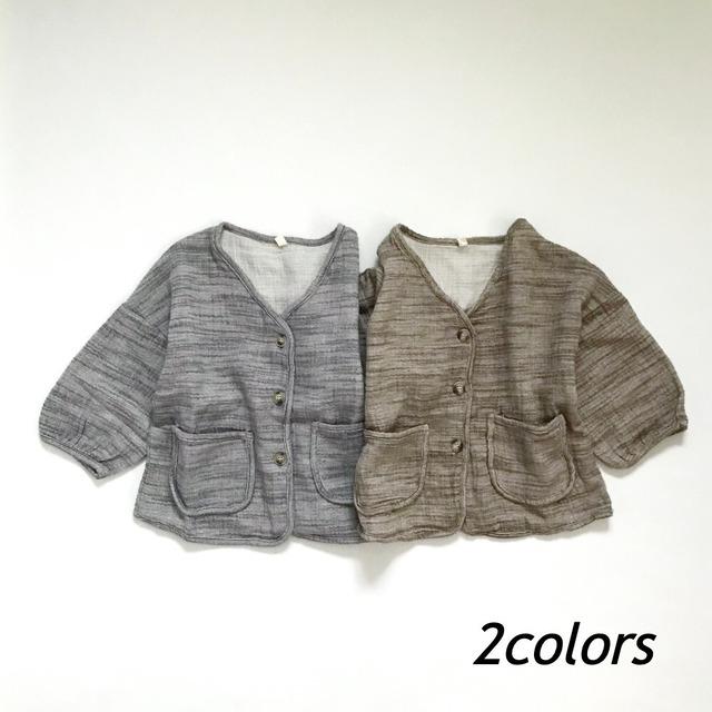 アースカラーシャツジャケット【O039】