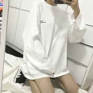 【トップス】シンプル カジュアルプリントアルファベットTシャツ42920049