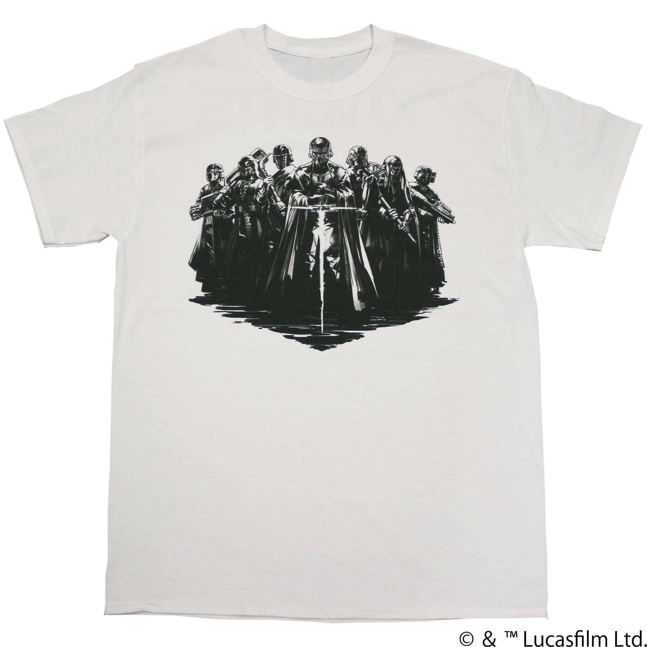 【スター・ウォーズ】レン騎士団 両面プリントTシャツ