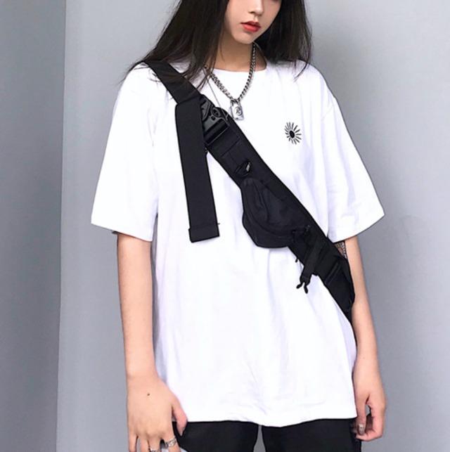 【翌日発送】Street style one point logo T-shirts LD0660