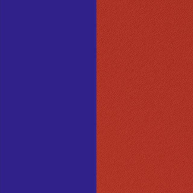 【エリゼ宮殿 x レジョルジェット カプセルコレクション】25mmレザー ブルーレプブリック&ルージュ(レッド/ブルー)